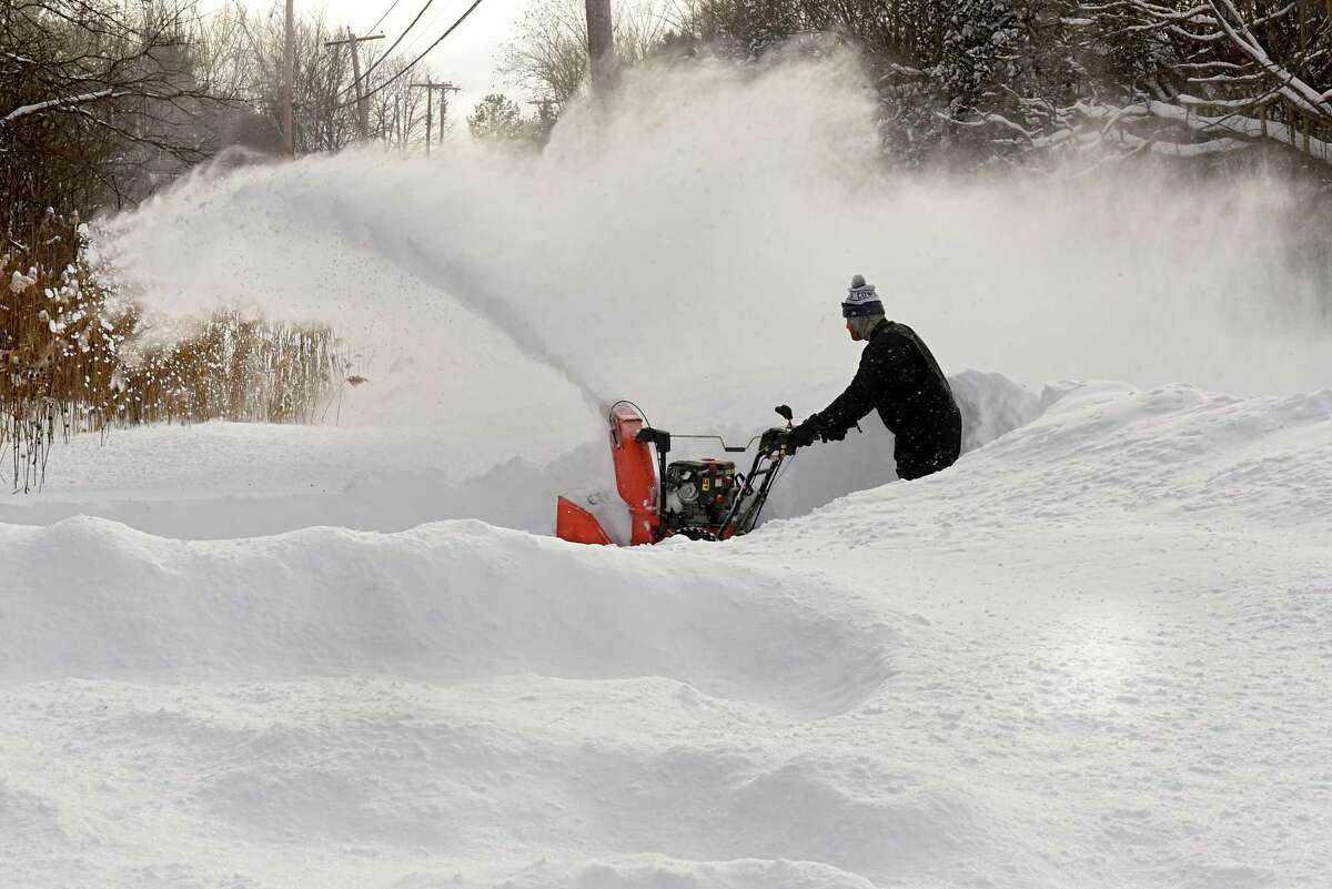 Users will flood social media looking for someone to plow their driveway - or to purchase a second-hand snow thrower.