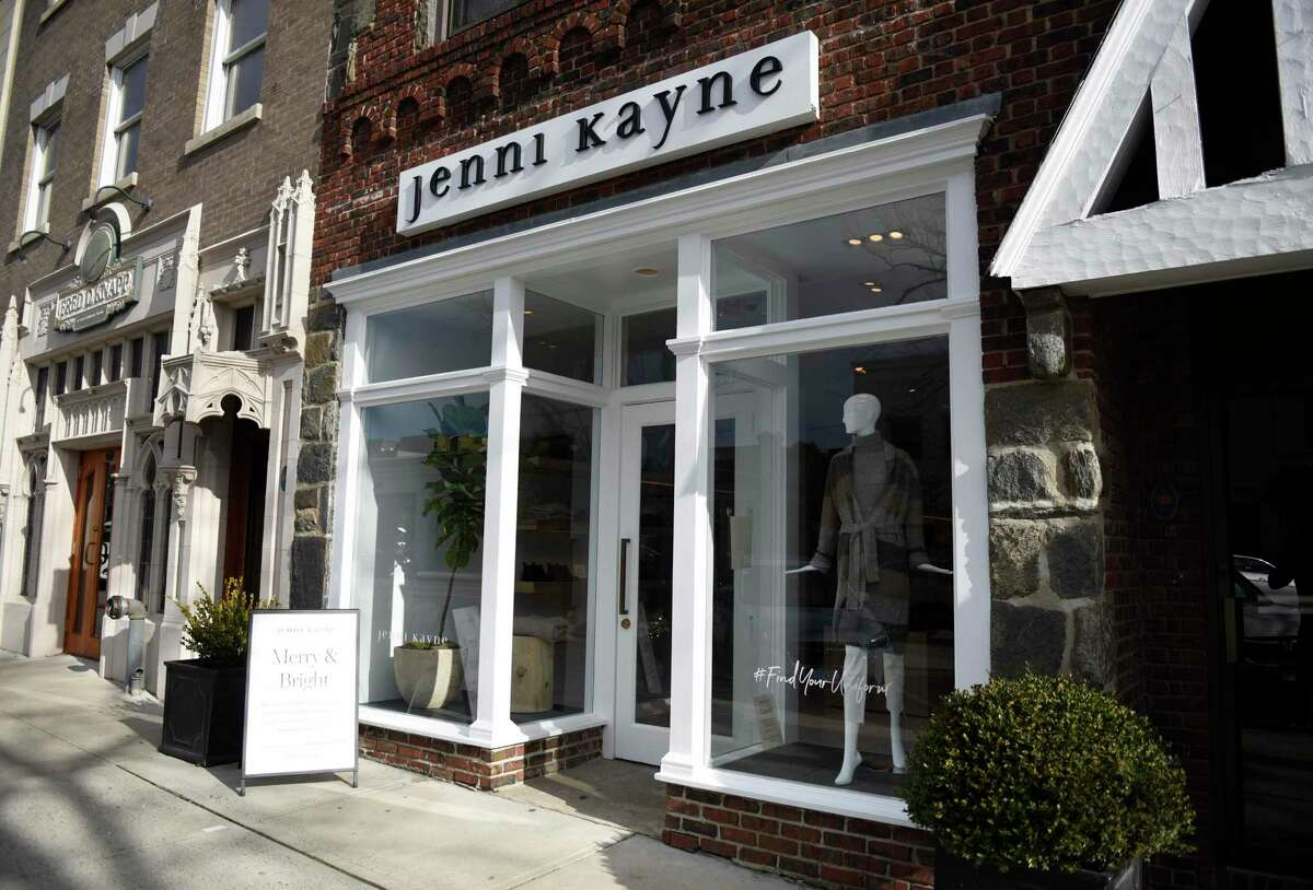 The new Jenni Kayne store in Greenwich, Conn., photographed on Monday, Dec. 7, 2020. The California-based lifestyle clothing and home store opened on Greenwich Avenue two weeks ago, joining two New York City stores as the company's first expansions to the east coast.