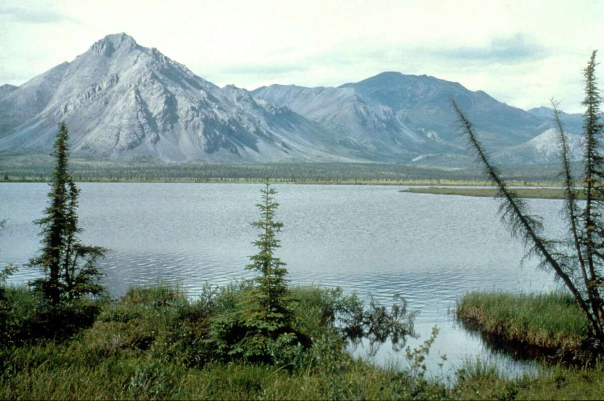 This undated photo shows the Arctic National Wildlife Refuge in Alaska. President Donald Trump is rushing to auction drilling rights in the refuge before President-elect Joe Biden is inaugurated.