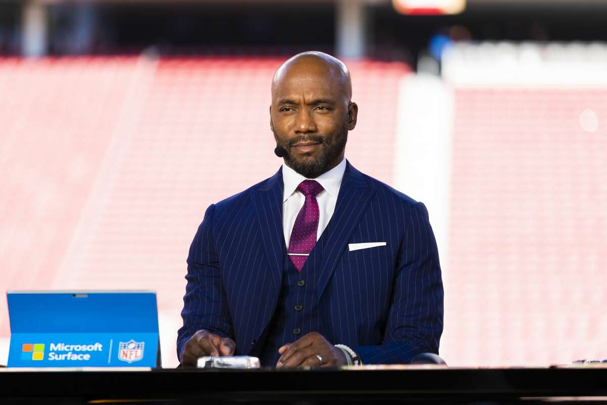 ESPN Monday Night Football analyst Louis Riddick was the first candidate to officially interview for the Texans' general manager opening.