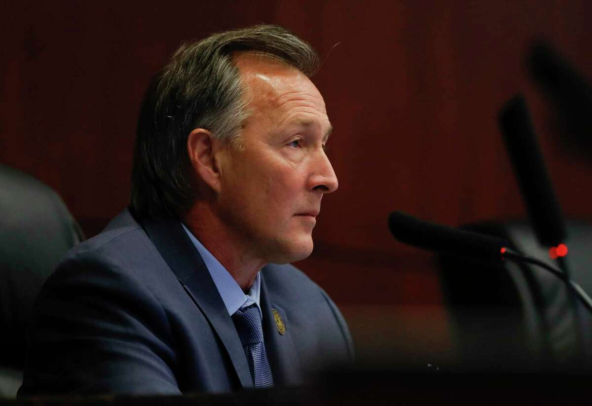 Conroe Mayor Pro Tem Raymond McDonald and fellow council members agreed to make a one-time reimbursement payment to the state following an over payment in sales and use tax.