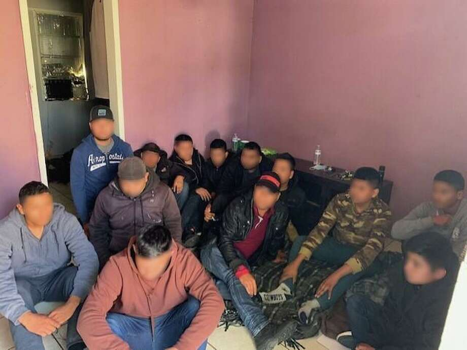 Immigrants in the country illegally were detained in Laredo by U.S. Customs and Border Protection and other law enforcement agencies. Photo: Courtesy /U.S. Customs And Border Protection