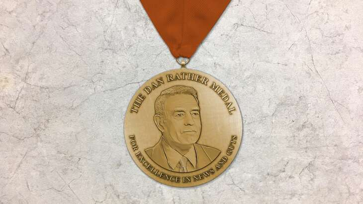 The University of Texas at Austin has announced new awards named after longtime CBS News anchor Dan Rather to honor courage and excellence in journalism.