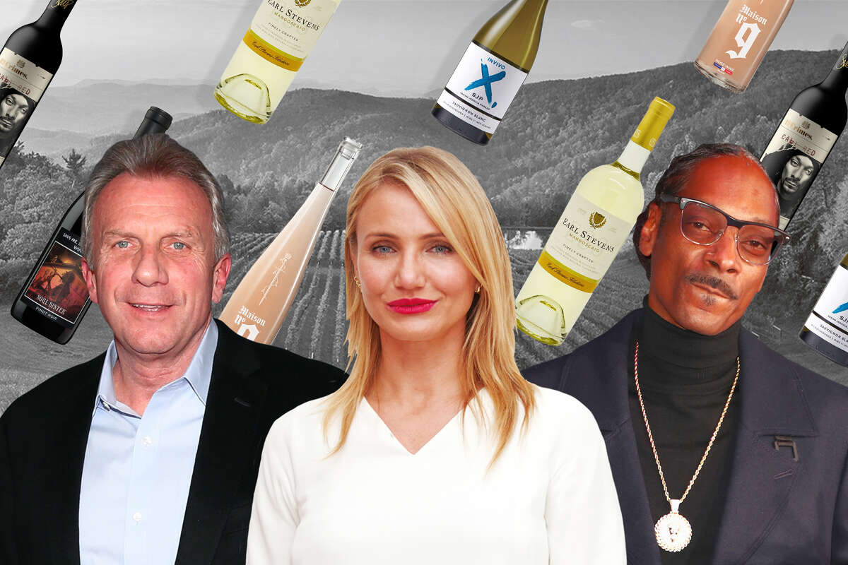 It seems these days like every celebrity has a wine, from former NFL player Joe Montana to Cameron Diaz to Snoop Dogg.