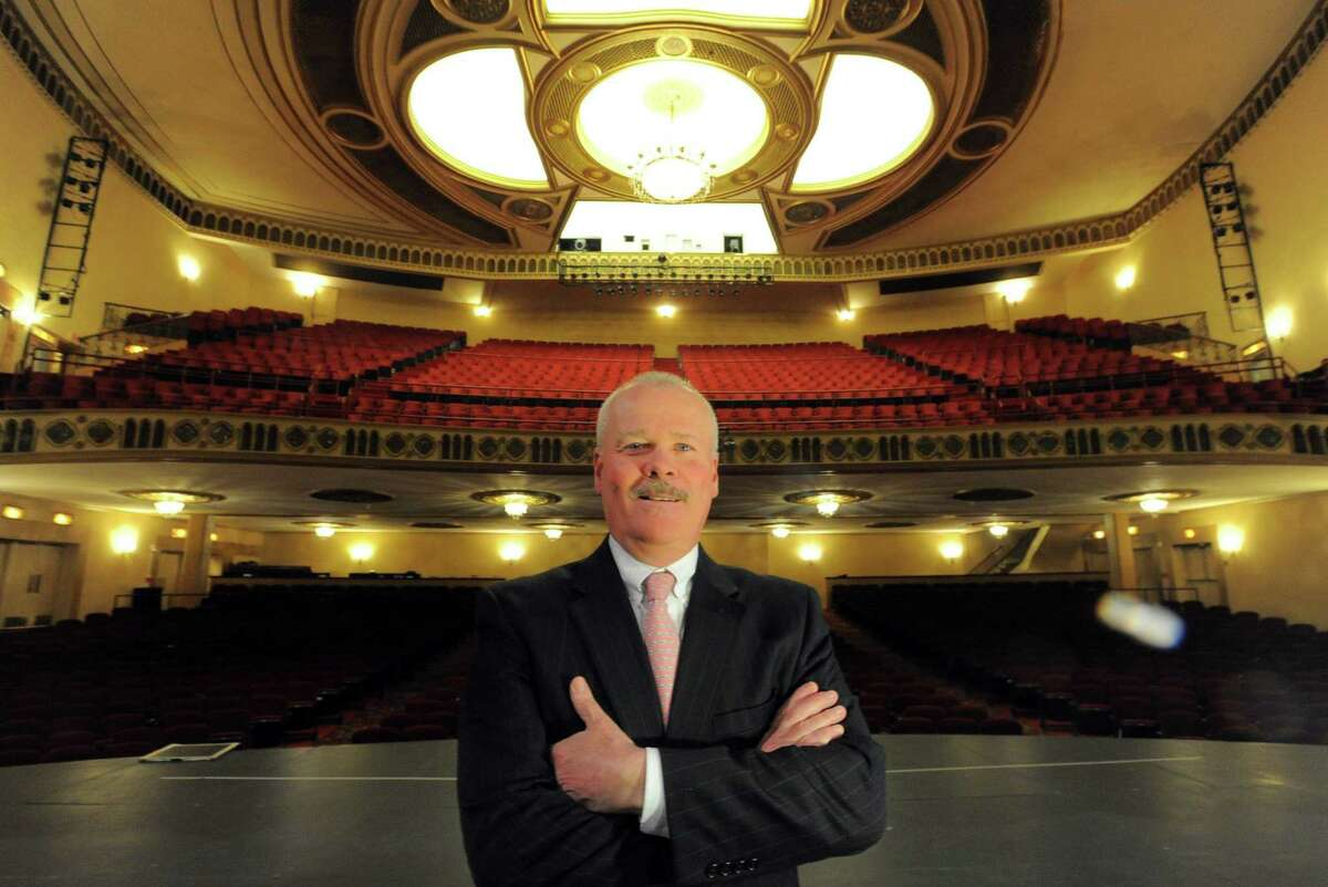 Michael Moran Jr., president of the Palace Theatre in Stamford.