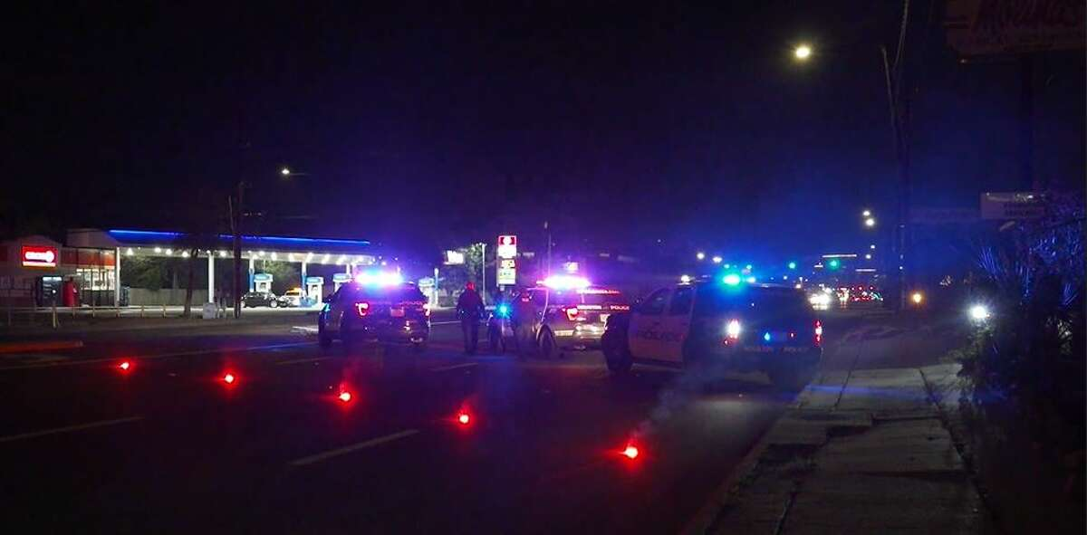 Houston police responded around 1 a.m. Friday to a fatal pedestrian crash on Westheimer Road.