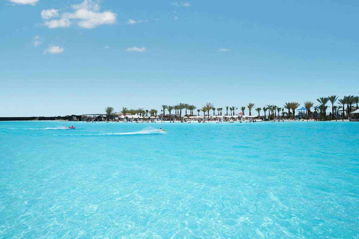 The lagoon consumes 2 percent of the energy used by conventional swimming pool filtration systems.