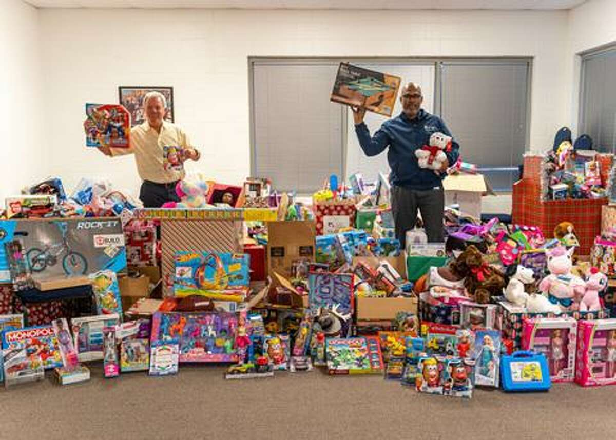 Spring ISD delivered more than 2,400 donated toys to Northwest Assistance Ministries, which the district had collected for the nonprofit's annual toy drive.