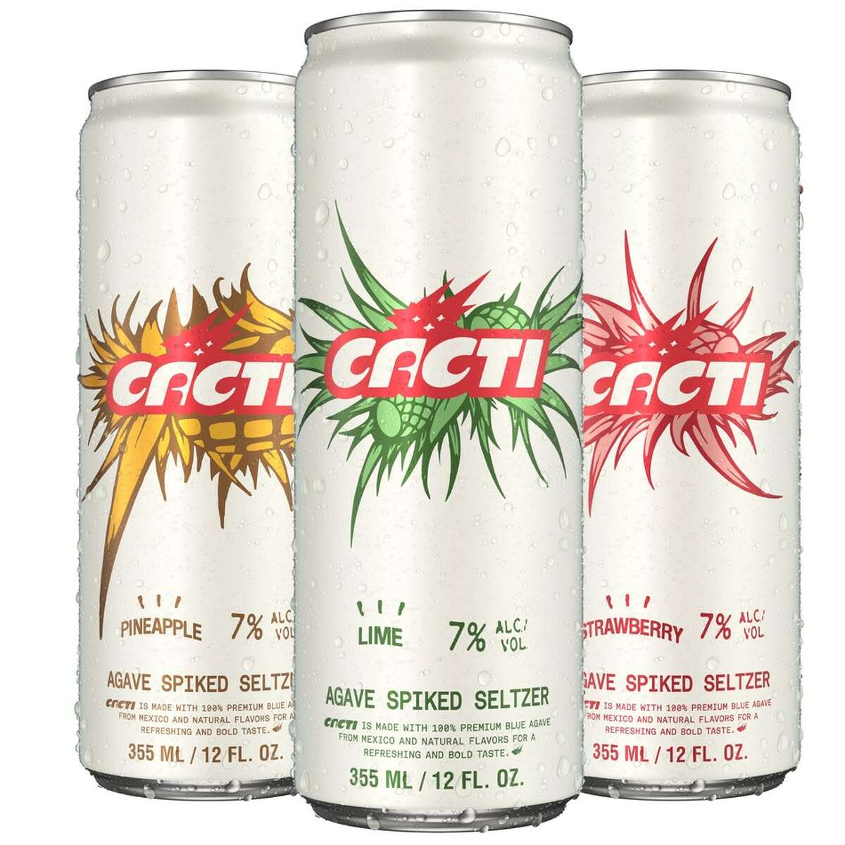 Travis Scott's upcoming alcoholic beverage CACTI, is available in strawberry, pineapple and lime.