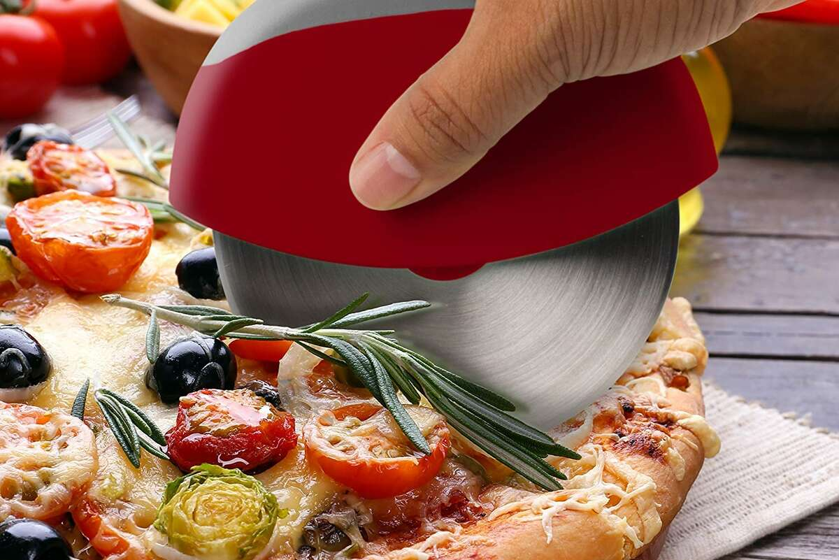 Commercial Chef Stainless Steel Pizza Cutter, $8.98
