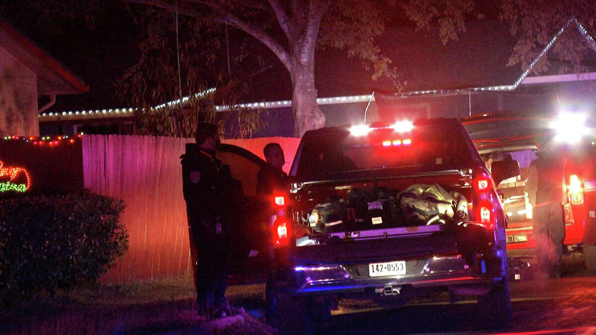 Bexar County Sheriff's Office said there is a lot still unknown after an adult and juvenile male were shot and killed in the 8100 block of Whistler Thursday night.