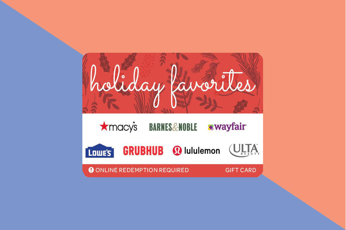 Buy a $150 Holiday Favorites gift card, get a $25 free gift card