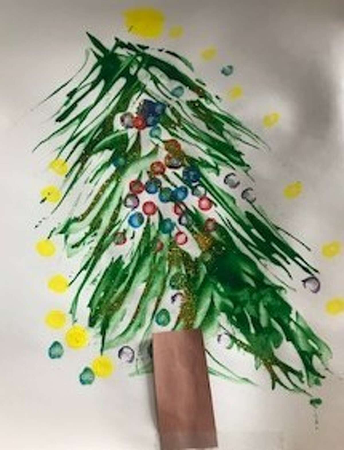 An entry from school children around the Capital Region for the 2020 Holiday Card Contest.