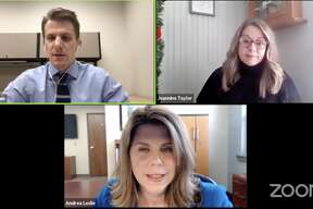 The Pioneer is hosting a live Town Hall meeting Dec. 18 to discuss the COVID-19 pandemic. Pioneer Editor Brad Massman is joined by guests Andrea Leslie, president of Spectrum Health Big Rapids, Reed City, United and Kelsey hospitals, and Jeannine Taylor, a public information officer for the District Health Department No. 10.