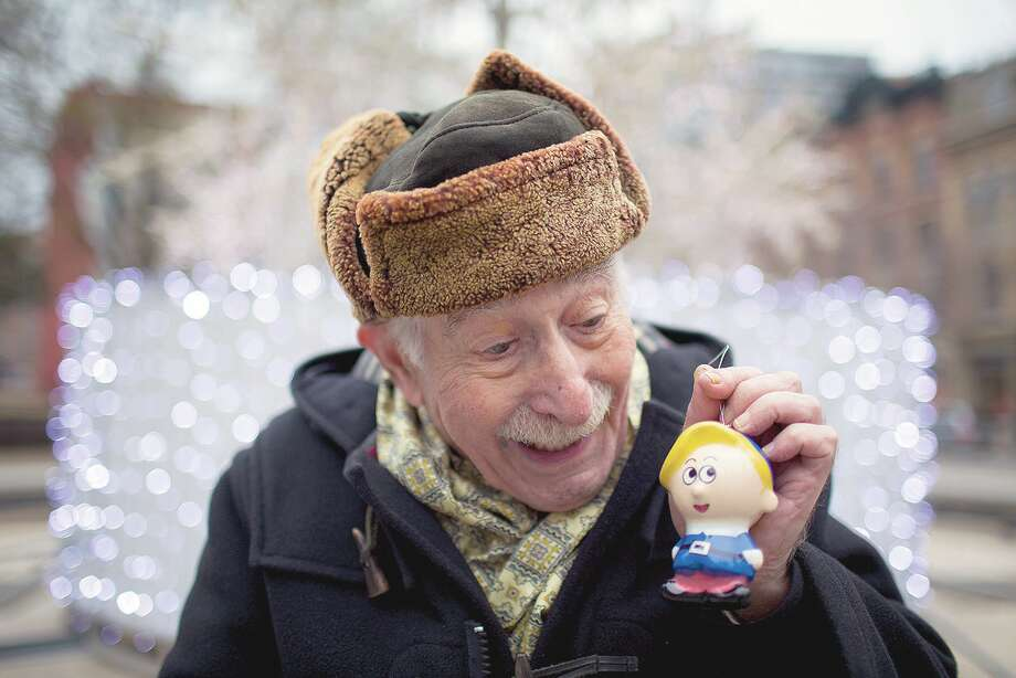 "Paul Soles was the voice of Hermey the Misfit Elf in the movie ""Rudolph The Red-Nosed Reindeer."" But 25 years before the movie, and a decade before the song, an Illinois writer gave birth to the famous reindeer's story. Photo: Carlos Osorio 