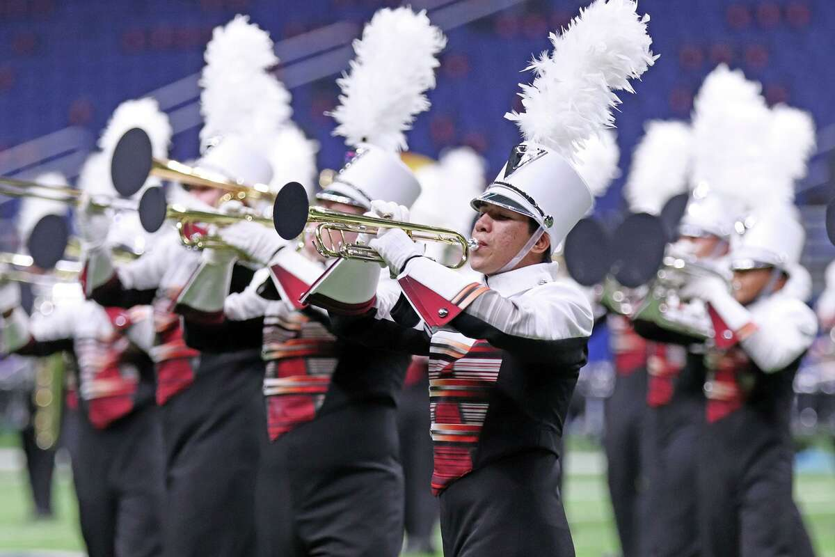 The Cy Woods marching band came in 10th place overall during the 2020 UIL Class 6A Marching Band State Contest on Dec. 15 in San Antonio.