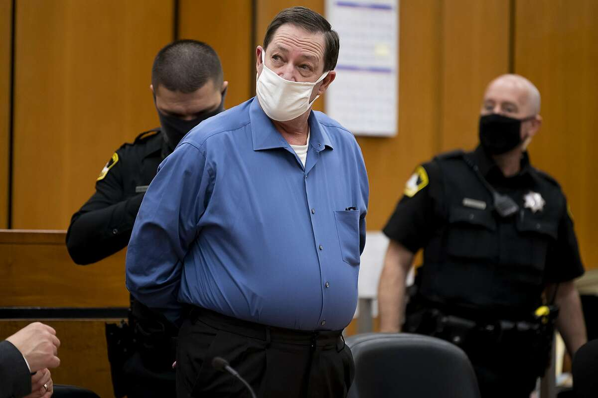 Roy Charles Waller appears in Sacramento County Superior Court last month, when he was found guilty of being the NorCal Rapist, who attacked nine women in their homes between 1991 and 2006.