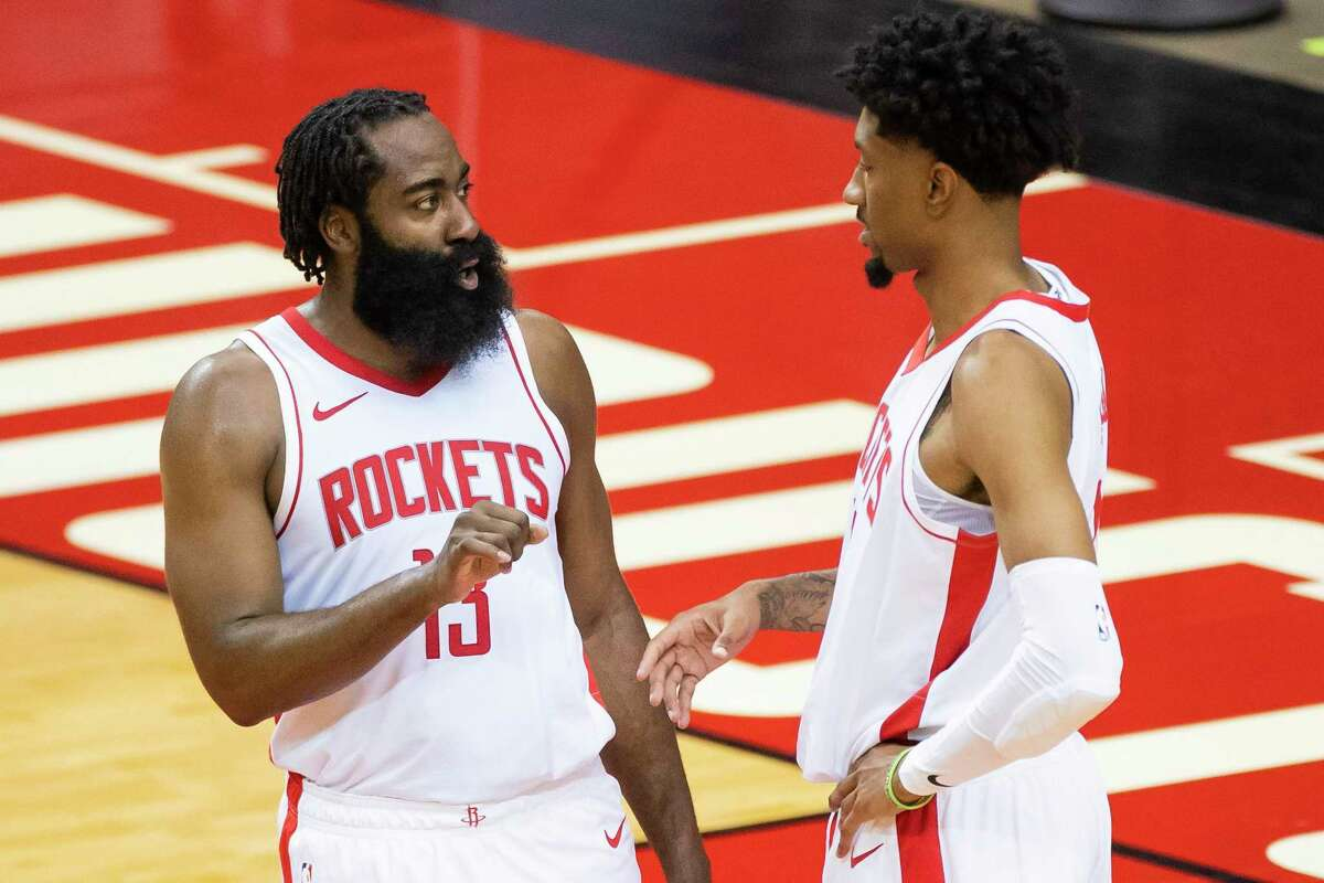 James Harden and Christian Wood have clicked in their limited time on the court together. For the Rockets, it's still a question of how long they will be together.