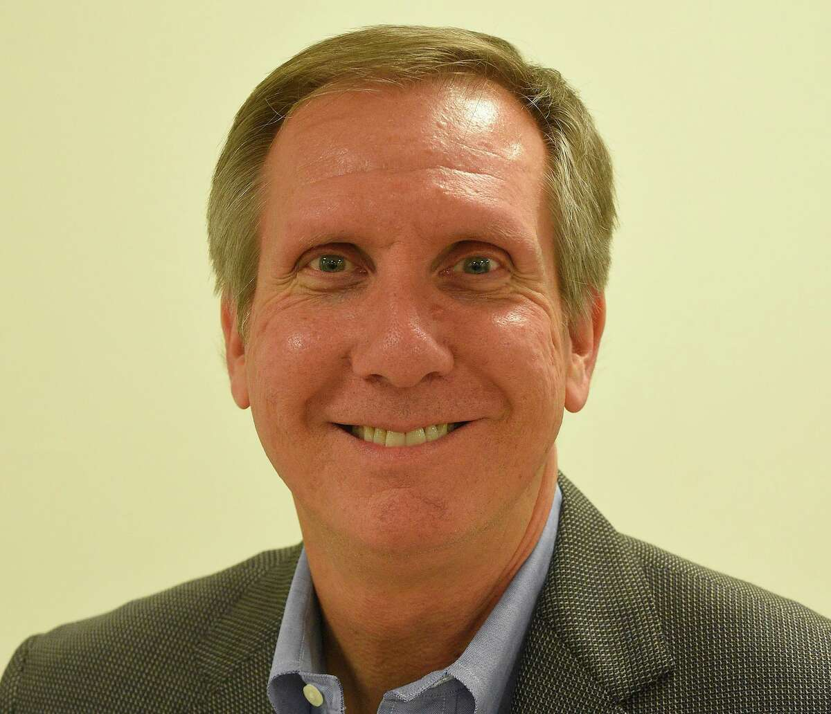 Peter Sherr, a member of the Greenwich Board of Education.