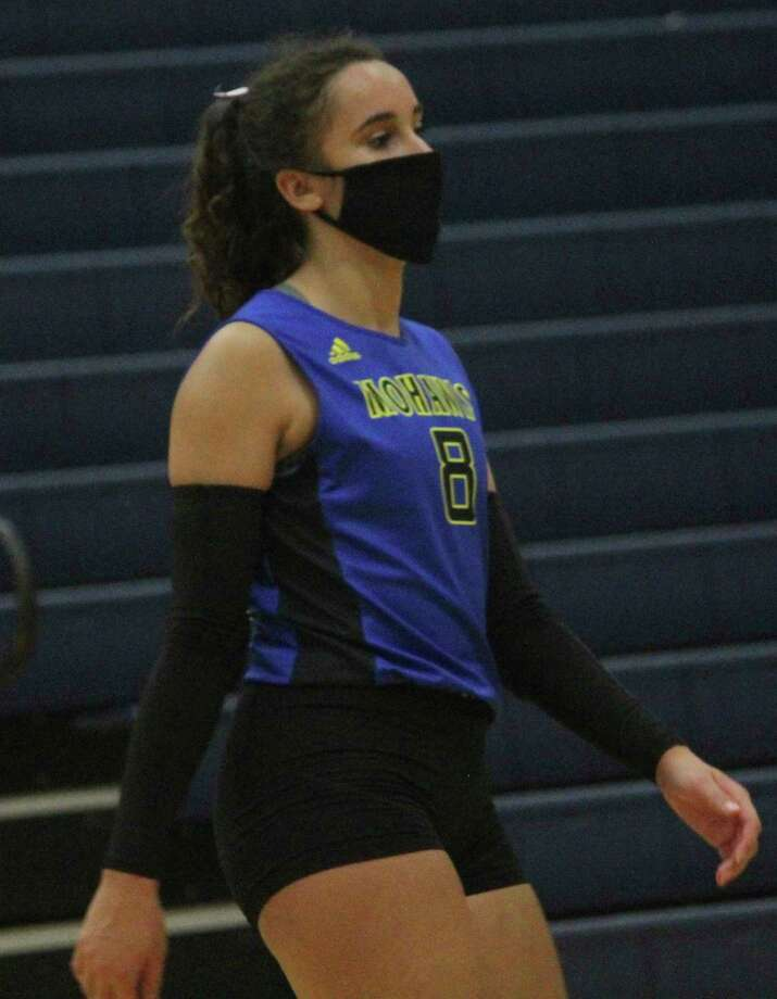 Morley Stanwood's Braelyn Berryhas received all-state honors for the third straight season. (Pioneer photo/John Raffel)