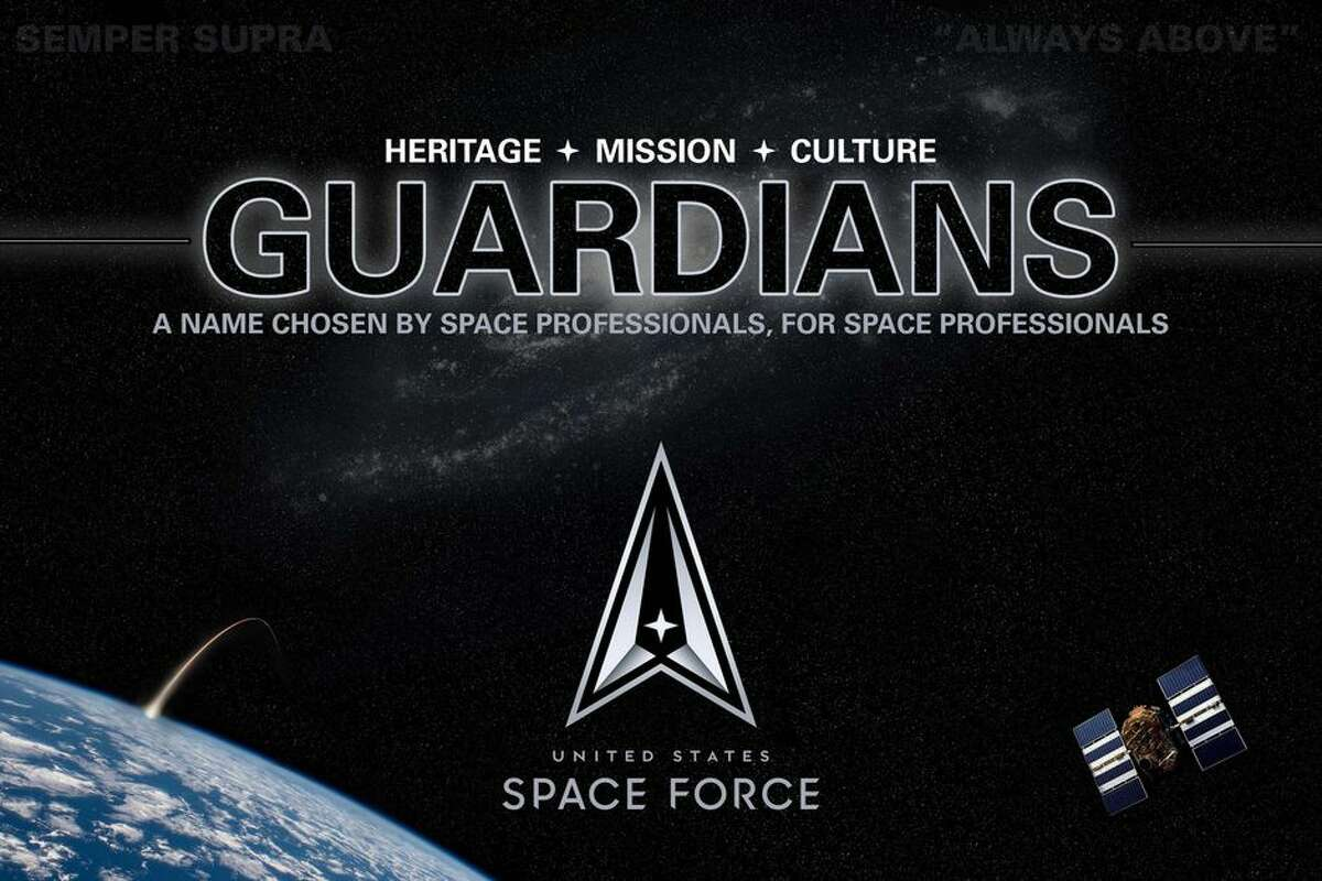 Space Force members will be known as guardians.