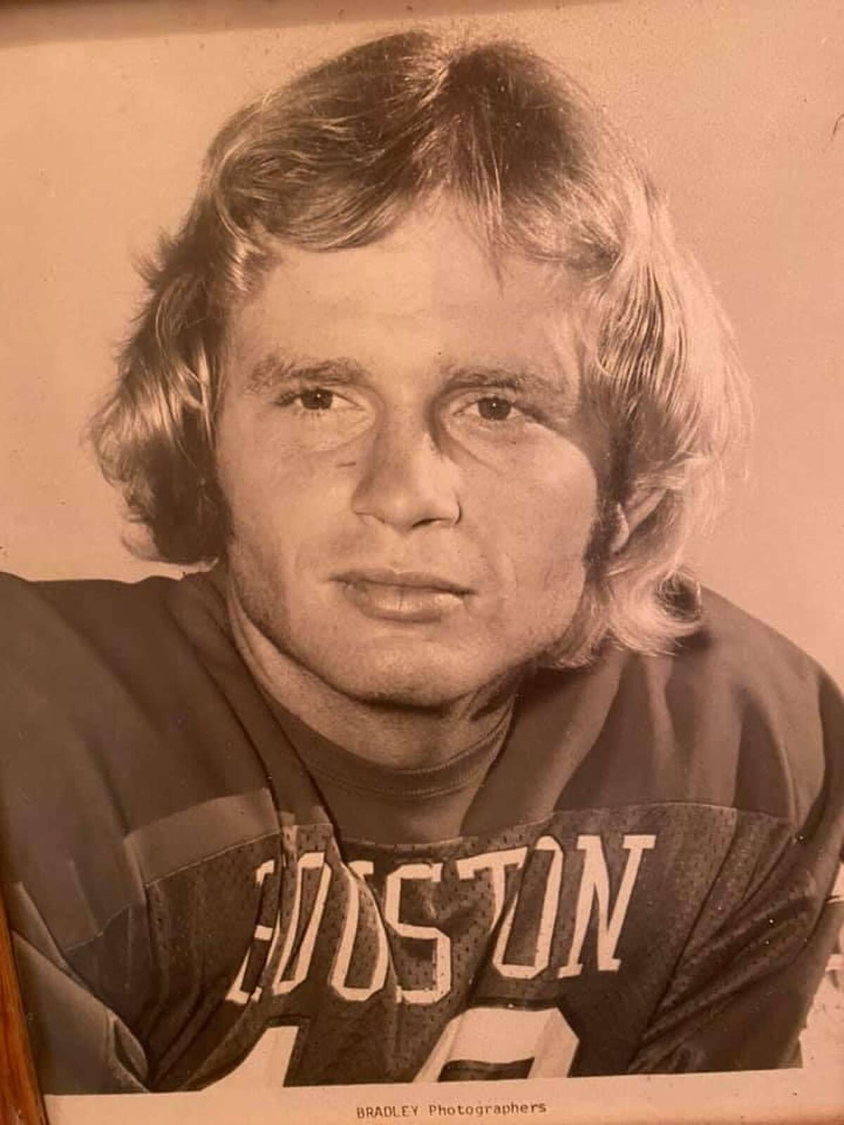 David Husmann played quarterback for the Cougars from 1973-75.
