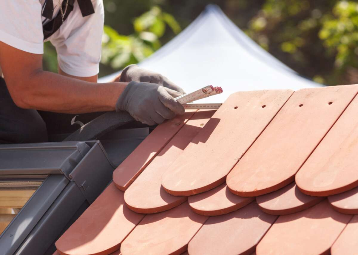 #54. Helpers - roofers - Annual mean wage: $33,350 - Employment: 8,960 Even as one of the lowest of the highest-paying construction jobs, the roofing trade brings in a stable annual salary in the mid-$30,000 range, with California roofers able to earn up to 24.6% above the U.S. average at $54,035 a year in San Francisco. There is no formal education required to become a roofer, but some union and contractor association apprenticeships are available for on-the-job training.