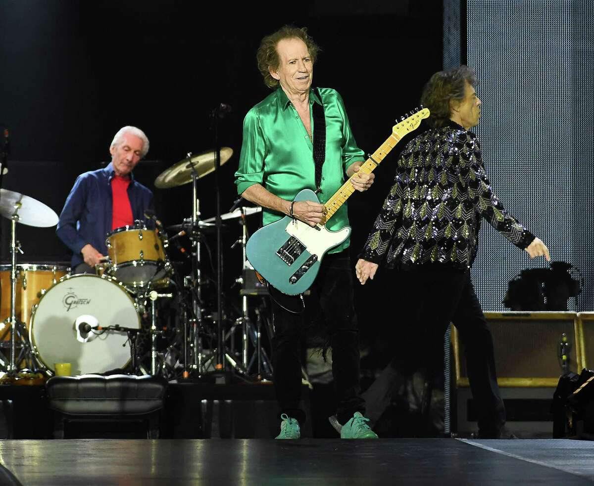 Keith Richards and the Rolling Stones perform at NRG Stadium during their No Filter Tour Saturday July 27,2019.(Dave Rossman Photo)
