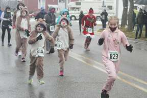 The Jingle Bell Jog 5K was held Saturday, Dec. 19, 2020 in Manistee. The event, which typically coincides with Manistee's annual Victorian Sleighbell Parade and Old Christmas Weekend was scaled down this season due to COVID-19 restrictions.