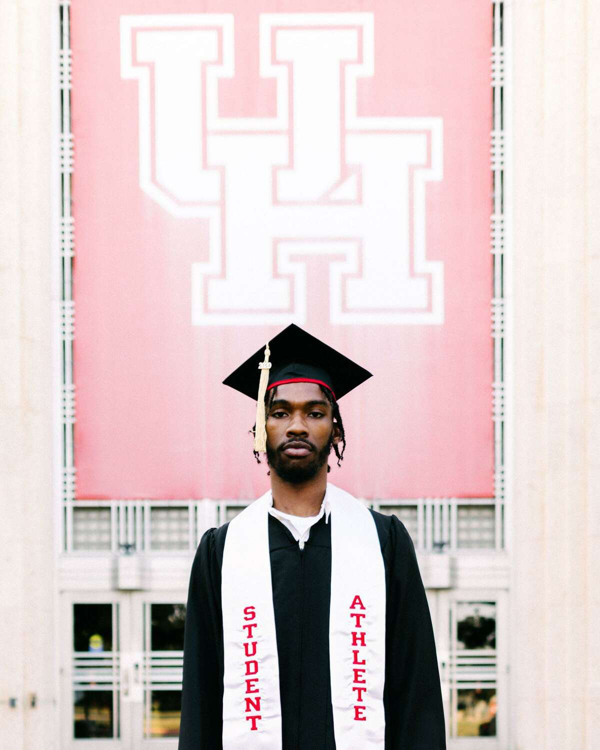 UH basketball player DeJon Jarreau graduated on Friday to become the first person in his family to matriculate in college.