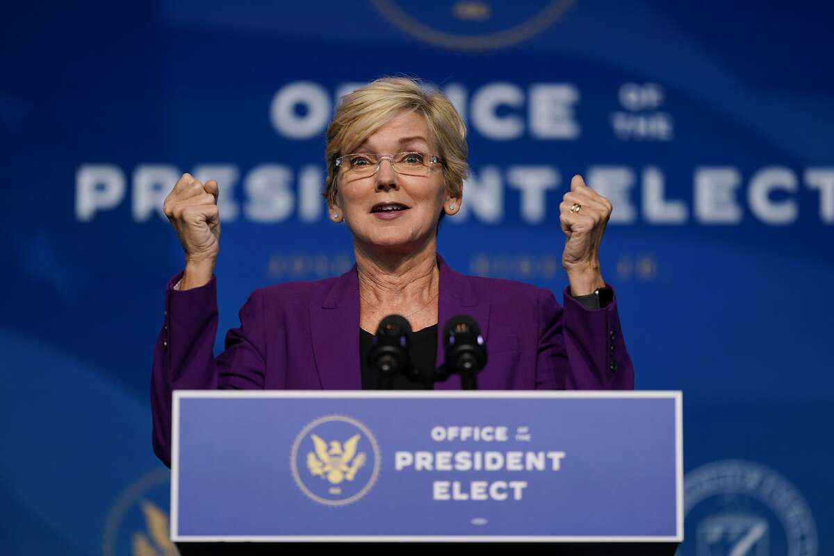 Jennifer Granholm used her first speech as U.S. Energy Secretary to warn oil and gas companies they risk being left behind unless they embrace a transition to cleaner sources of energy, while also offering them an opportunity to partner with the new administration.