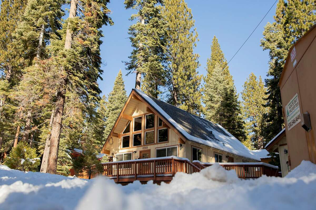 An Airbnb rental home in the Agate Bay community near Lake Tahoe. Tahoe has been shut down through the end of December and lodging operators are painfully canceling reservations for the month, yet Airbnb and VRBO haven't changed a thing.