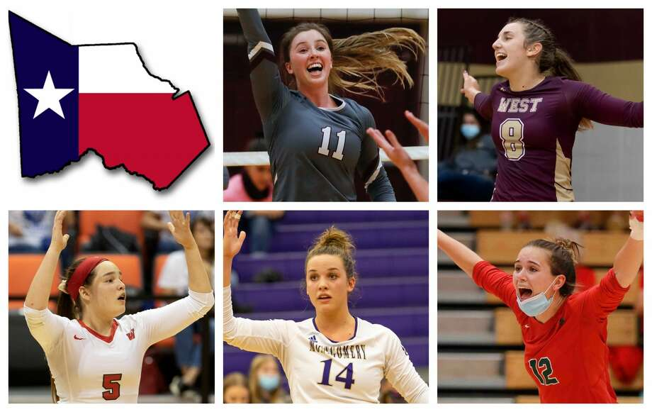 Faith Lynch, Alyssa May, Jackie Lee, Raina McWhirter and Clara Brower are The Courier's nominees for Player of the Year. Photo: Staff File Photos