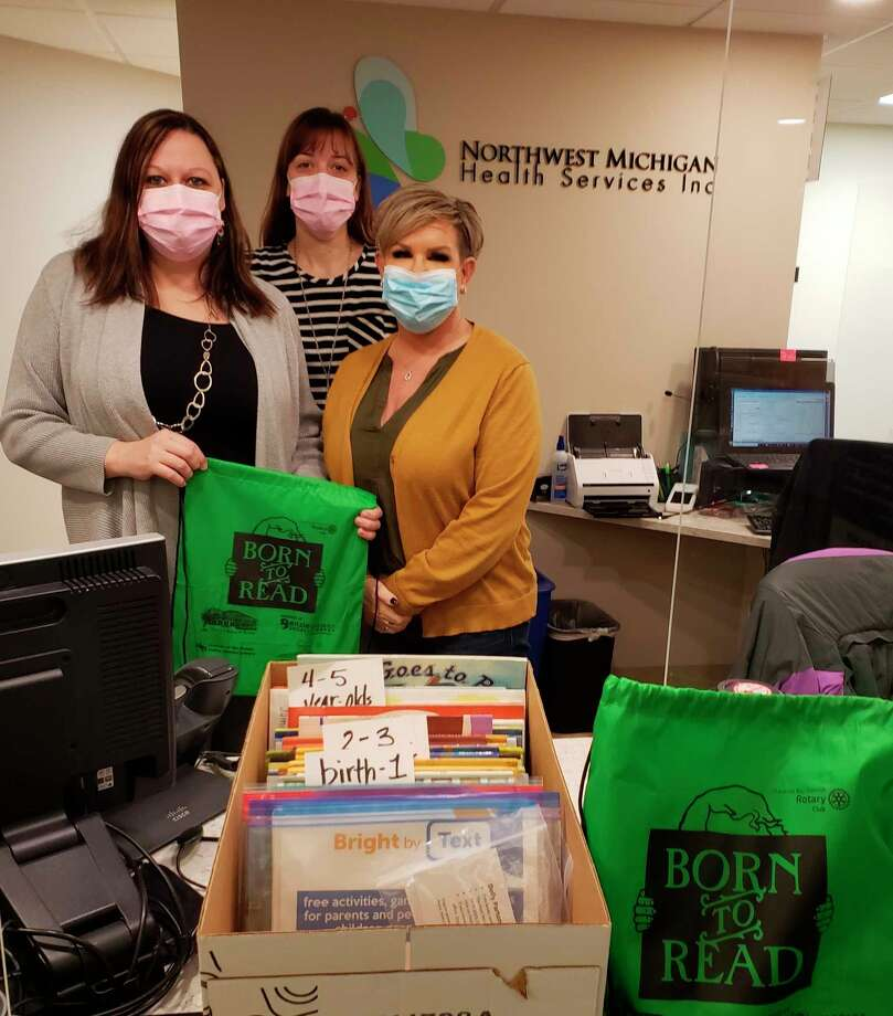 The Advocates of Benzie County's Early Childhood Task Force has begun a free book giveaway program for children ages birth to 5, seen by a medical professional at the Benzonia Clinic of the Northwest Michigan Health Services Inc.(Courtesy Photo)