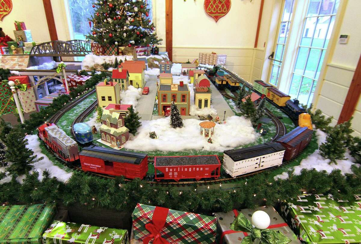 The Holiday Express Train Show at the Fairfield Museum and History Center in Fairfield, Conn., on Saturday Dec. 5, 2020. For more information of safety measures in place for the show and tickets visit: https://www.fairfieldhistory.org/train-show/ The trains will be on view through Sunday, January 3rd.