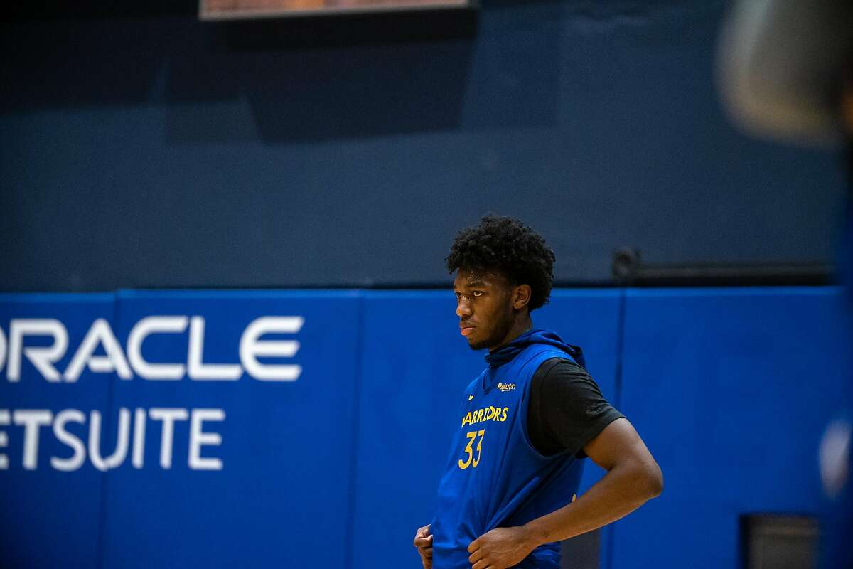 Golden State Warriors?• James Wiseman at practice at Chase Center in San Francisco, Calif. on Monday, Dec. 14, 2020.