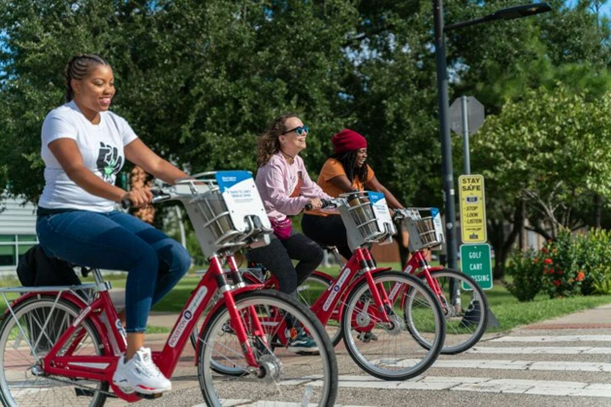 The Beaumont Convention and Visitor's Bureau, in partnership with the city of Beaumont, is looking into a program to put 24 bicycles in downtown Beaumont to make it easier for visitors and residents to see all the city's attractions.