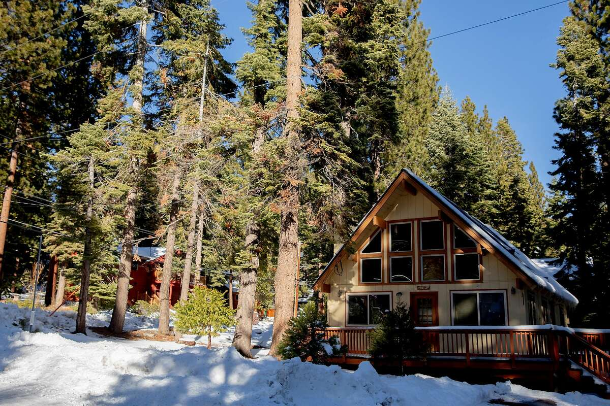 """An Airbnb rental home in the Agate Bay community near Lake Tahoe. Airbnb is asking guests to fill out a new form on its website to """"attest that their stay is permitted within local guidelines"""" before booking."""