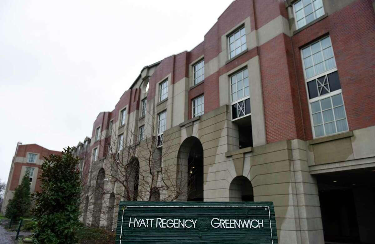 The Hyatt Regency in Greenwich.