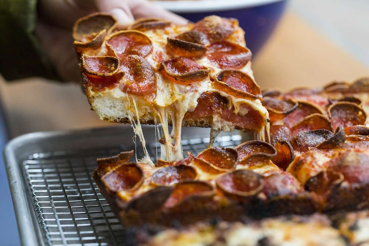 The 6x8 is Square Pie Guys' version of a pepperoni pizza, and it never leaves the menu. The restaurant is opening a new location in Oakland.