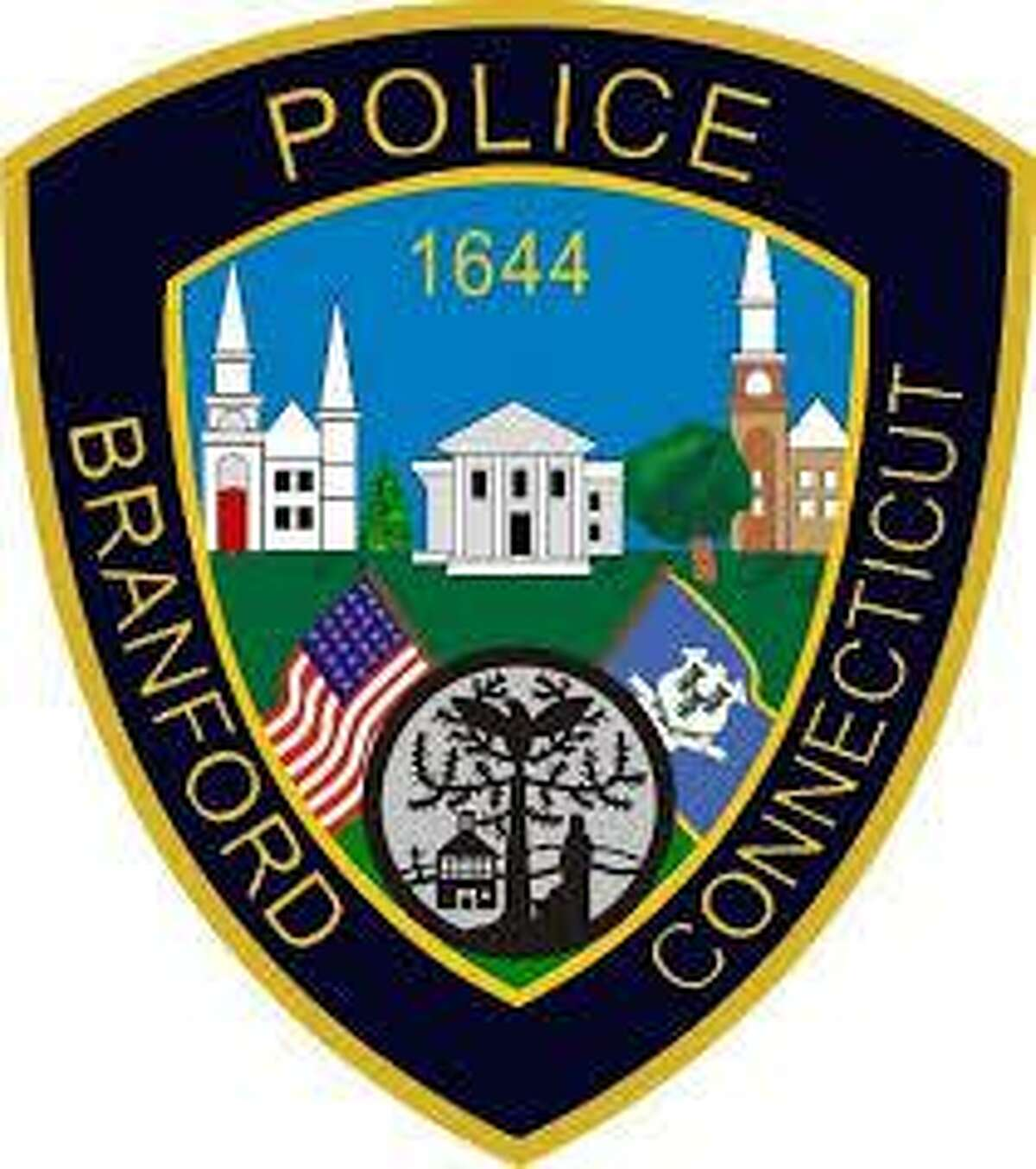 Branford Police Department patch.