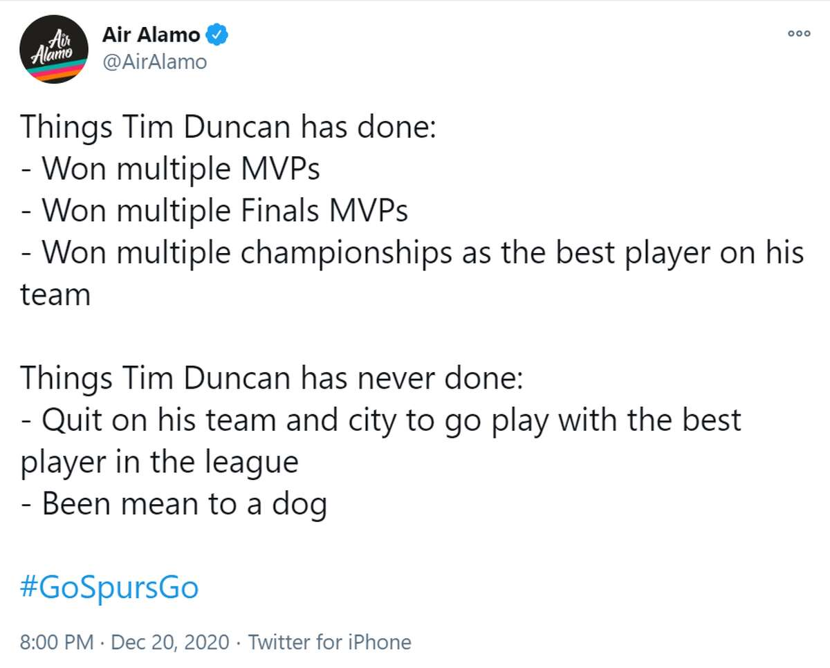 One Twitter user started by just laying out some of the key accomplishments from Tim Duncan's career. And they are quite impressive.