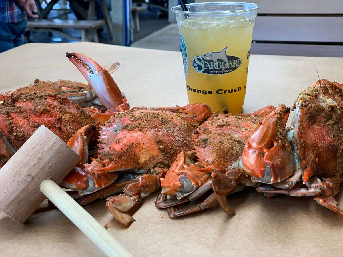Crushable crabs at Nick's Fish House.