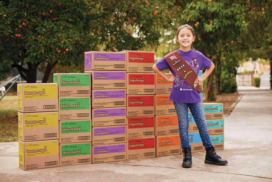 Girl Scouts are getting a head start on cookie season this year by now accepting orders online. Photo: Courtesy Of The Girl Scouts USA