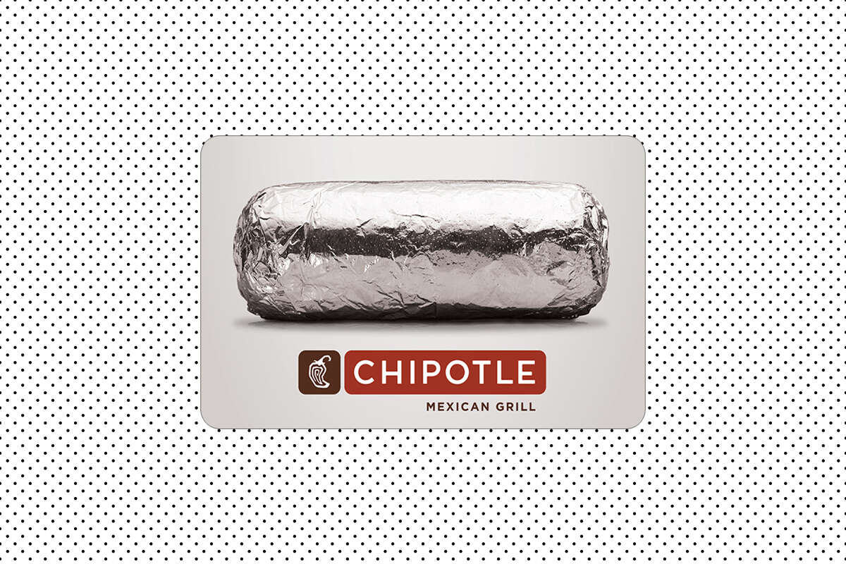 Buy a $50 Chipotle gift card, get $5 free