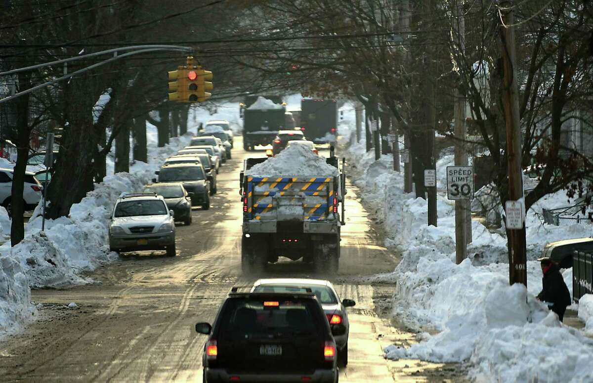 The side streets in Schenectady will be messier than the streets in Albany or the streets in Troy.