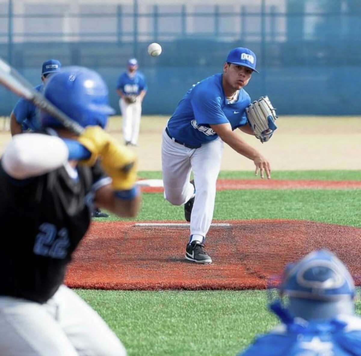 Former United South Panther Devin Benavides walked on at Our Lady of the Lake this fall.