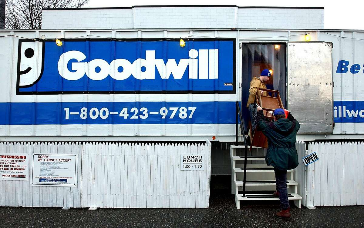 Goodwill organizations across the nation, are recipients of tens of millions of dollars from philanthropist MacKenzie Scott, who included Goodwill of Silicon Valley in her largesse with a $10 million contribution. A Goodwill site is pictured in Milford, Conn.