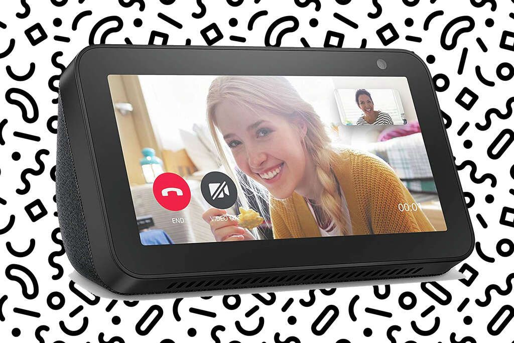 Echo Show 5 Smart display with Alexa – stay connected with video calling - Charcoalfor $44.99 at Amazon