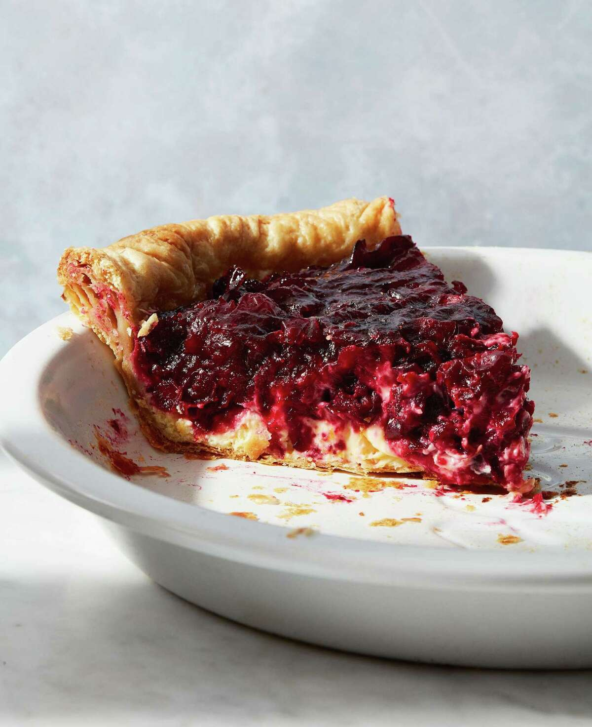 """Cranberry-Orange Pie recipe from """"The Book on Pie"""" by Erin Jeanne McDowell."""